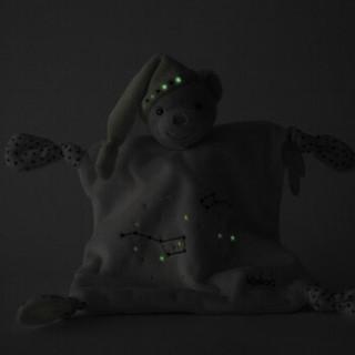 卡鲁熊(kaloo)安抚玩偶毛绒玩具婴幼儿安抚巾玩偶可入口熊兔毛绒玩偶安抚巾翠绿熊礼盒k960296