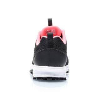 李宁 LI-NING 女子野外跑鞋ARDP014-1 标准黑/荧光炫粉-1 36