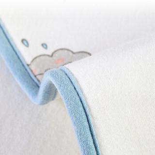 AUSTTBABY婴儿防水隔尿垫 黑科技冷热感加大加厚宝宝透气防水防漏隔尿布隔尿巾 蓝色鲸鱼 70*90cm