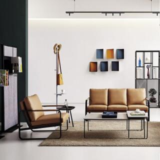 赢寸间 商务会客沙发办公接待沙发休闲沙发三人位简约沙发