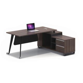 驰界(chijie)经理桌时尚简约板式老板办公桌经理主管桌电脑桌