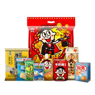 限地区、京东PLUS会员 : Want Want 旺旺 零食大礼包 680g *5件