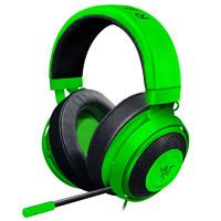 雷蛇北海巨妖专业版V2 绝地求生 吃鸡 头戴式电竞游戏耳机 绿色