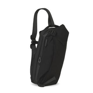 cote&ciel联想华硕iPad平板电脑包单肩包大容量Riss防水背包13英寸尼龙黑色28639