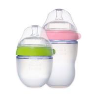 comotomo可么多么奶瓶新生婴儿硅胶韩国宝宝官方正品150ml/250ml *2件