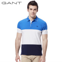 GANT 甘特 252111 衫撞色短袖POLO衫