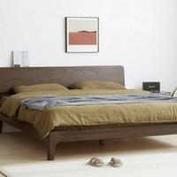 维莎 s0430 日式实木双人床 1.5/1.8米