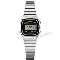 CASIO 卡西欧 Regular普通系列 LA670WA-1D 复古学生电子手表