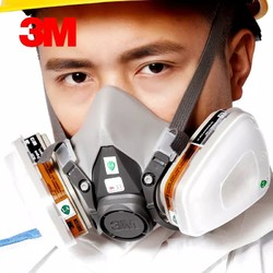 3M防毒面具 6502QL 6001