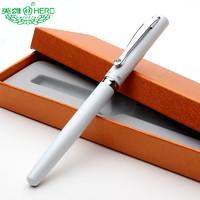 HERO 英雄 1309 学生练字钢笔 黑色 0.38mm 送2个笔尖+10支墨囊