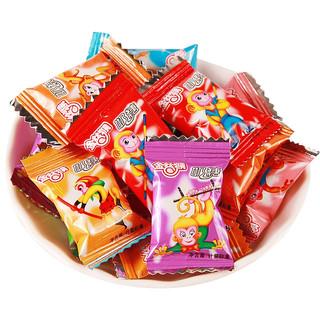 金丝猴 小奶糖散装牛奶糖果 500g *2件