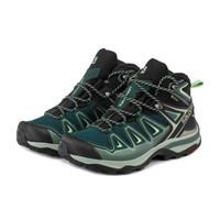 SALOMON 萨洛蒙 409940 女款户外徒步鞋 翠绿色