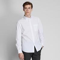 UNIQLO 优衣库 419014 男士优质长绒棉衬衫