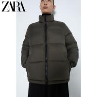 ZARA 06985415507 男装棉服夹克外套