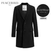PEACEBIRD 太平鸟 B1AA74302 男装 外套羊毛大衣