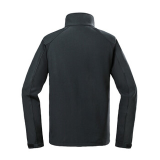 哥伦比亚(Columbia)软壳衣 户外舒适防风微弹保暖男士夹克软壳外套 WE1223 014(男) M