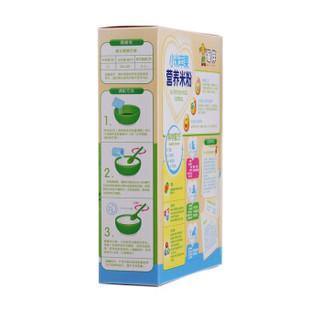 每伴 小米苹果营养米粉225g*2盒