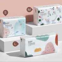 babycare 婴儿纸巾 100抽*24包 S码