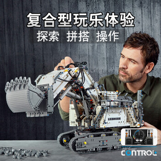 乐高(LEGO)积木 机械组Technic利勃海尔R9800挖掘机12岁+ 42100 儿童玩具 男孩女孩生日礼物 10月上新