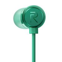 realme原耳 三键线控带麦 入耳式 磁吸 耳机(绿色)