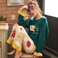 两件套装春秋甜美居家服/睡衣