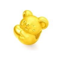 周大福 R24402 十二生肖鼠 心有所鼠足金黄金路路通