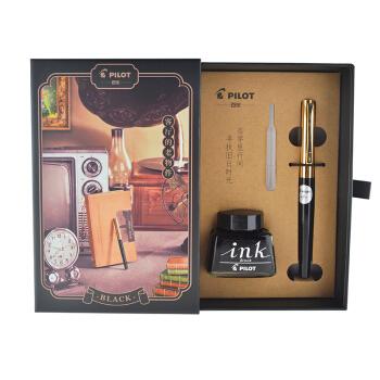 京东PLUS会员 : PILOT 百乐 17G 钢笔 复古礼盒墨水套装