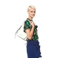 PRADA 普拉达 Manuelle系列 女士时尚三角标志可拆卸肩带手提单肩斜挎包