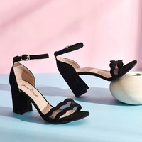 Josiny 卓诗尼 T24851412 女士高跟凉鞋