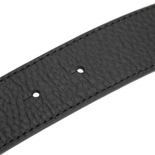 Versace Collection 男士美杜莎半脸板扣腰带  V91203S-VM00260-V000 黑色 90cm