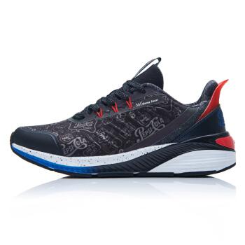 361° X Pepsi系列 百事联名款 女士运动鞋 582012254 曜石黑/火红 39