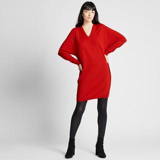 UNIQLO 优衣库 418625 女士纯羊毛连衣裙