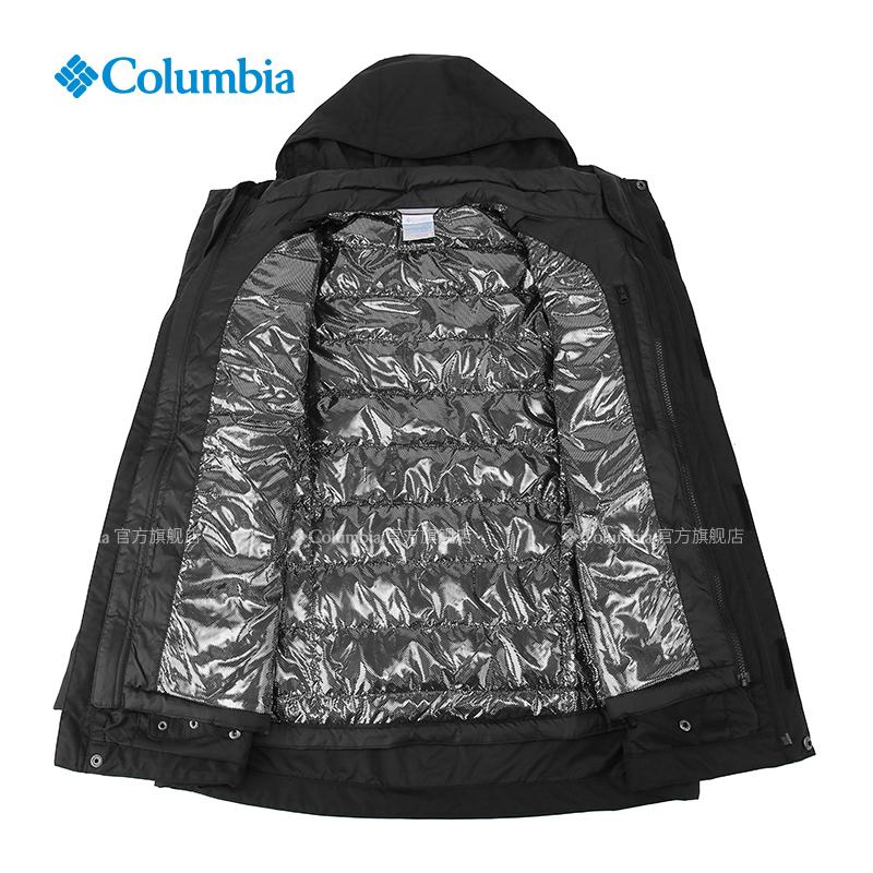 Columbia 哥倫比亞 WE1155 男款三合一沖鋒衣 464 M(175/96A)