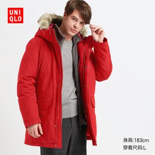 UNIQLO 优衣库 419992 男装 高性能保暖羽绒大衣