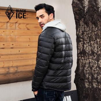 BLACK ICE 黑冰 F8101 男款鹅绒轻便羽绒服
