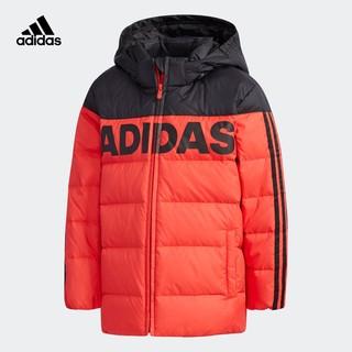 adidas 阿迪达斯 小童中长款羽绒服