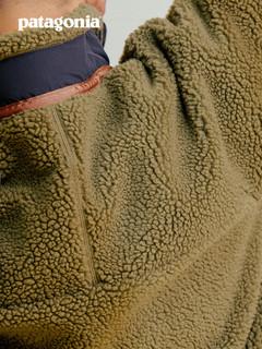 patagonia 巴塔哥尼亚 限量款 Classic Retro-X 抓绒夹克 (经典蓝白)NAT-男款23056 M