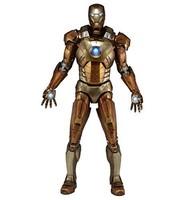 Marvel 61224 1:4 比例复仇者钢铁侠 Midas 版金色盔甲人偶