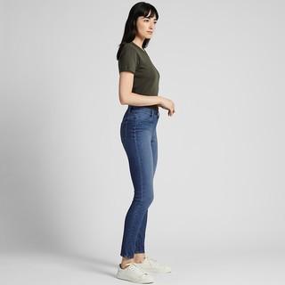 UNIQLO 优衣库 421600 女士牛仔紧身长裤