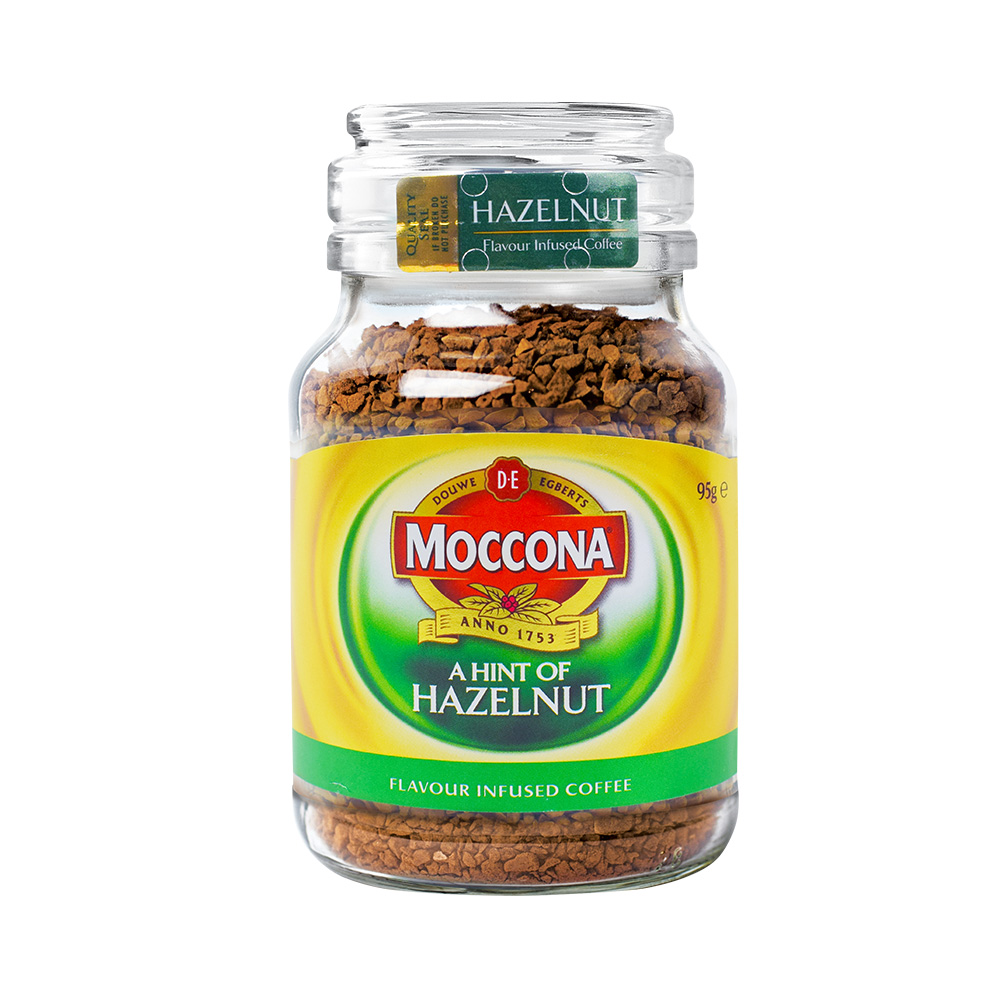 Moccona 摩可纳 冻干速溶咖啡粉 榛果风味 95g