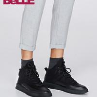 BeLLE 百丽 5VL01DD8 男士保暖棉靴靴