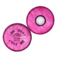 3M 2097 6200 6502 7502等面具可使用 2097防尘滤棉2片(一包) *2件