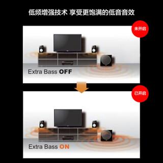 YAMAHA 雅马哈 HTR-3072 5.1声道+蓝牙+USB+135W AV功放机 黑色