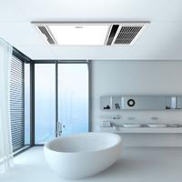 SUNJOY 三竹 三合一嵌入式浴室暖风机 SFBO3Q风暖七彩灯款