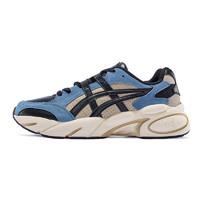 ASICS 亚瑟士 GEL-BND 男女款休闲运动复古老爹鞋 1021A216 黑色/蓝色 42