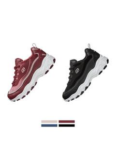【双11预售】Skechers斯凯奇女鞋加绒内里休闲鞋 熊猫鞋