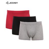 Jockey 居可衣 J1311202 男士平角冰丝内裤 *3件