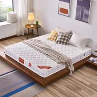 a家家具 弹簧床垫1.8米1.5海绵透气环保席梦思双人床垫子透气防螨(默认 120*200cm)