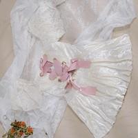 OMOM KB29229 女士法式连体裙式泳衣