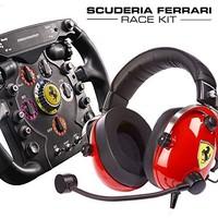 图马斯特法拉利F1方向盘耳机赛车套装